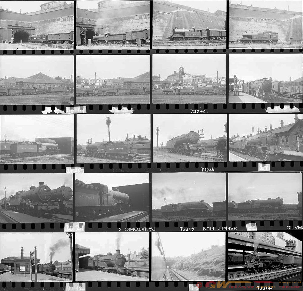 Approximately 108, 35mm Negatives. Includes