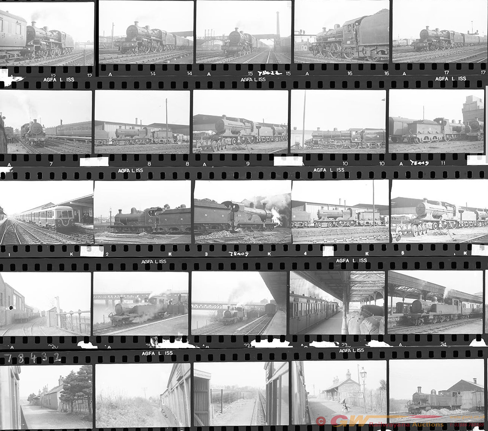 Approximately 127, 35mm Negatives. Irish To
