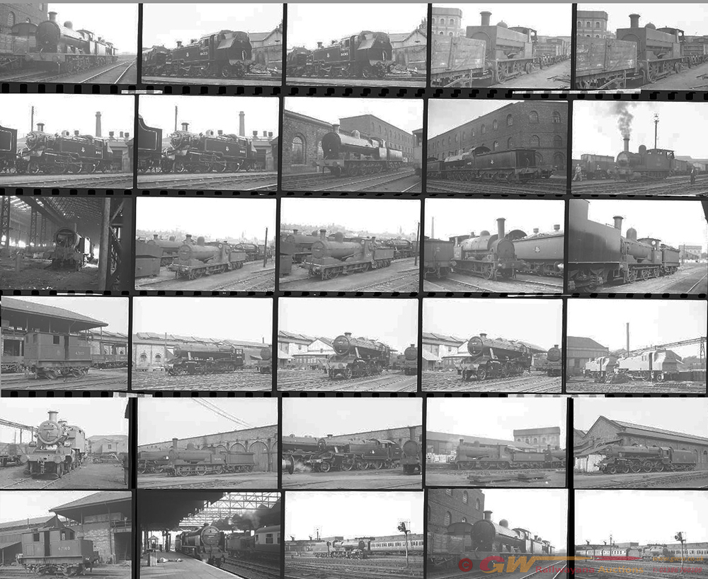 Approximately 81, 35mm Negatives. Includes Crewe,