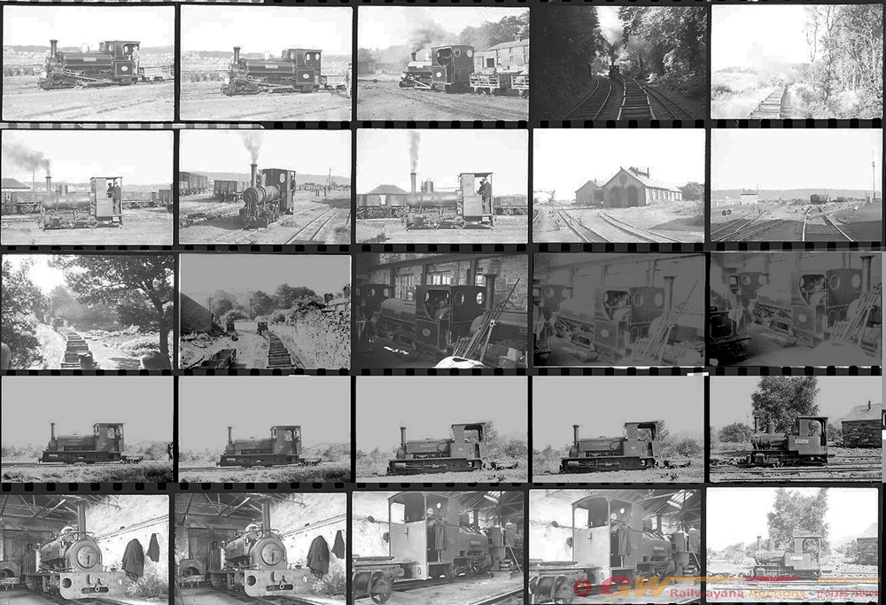 Approximately 74, 35mm Negatives. Includes Penrhyn