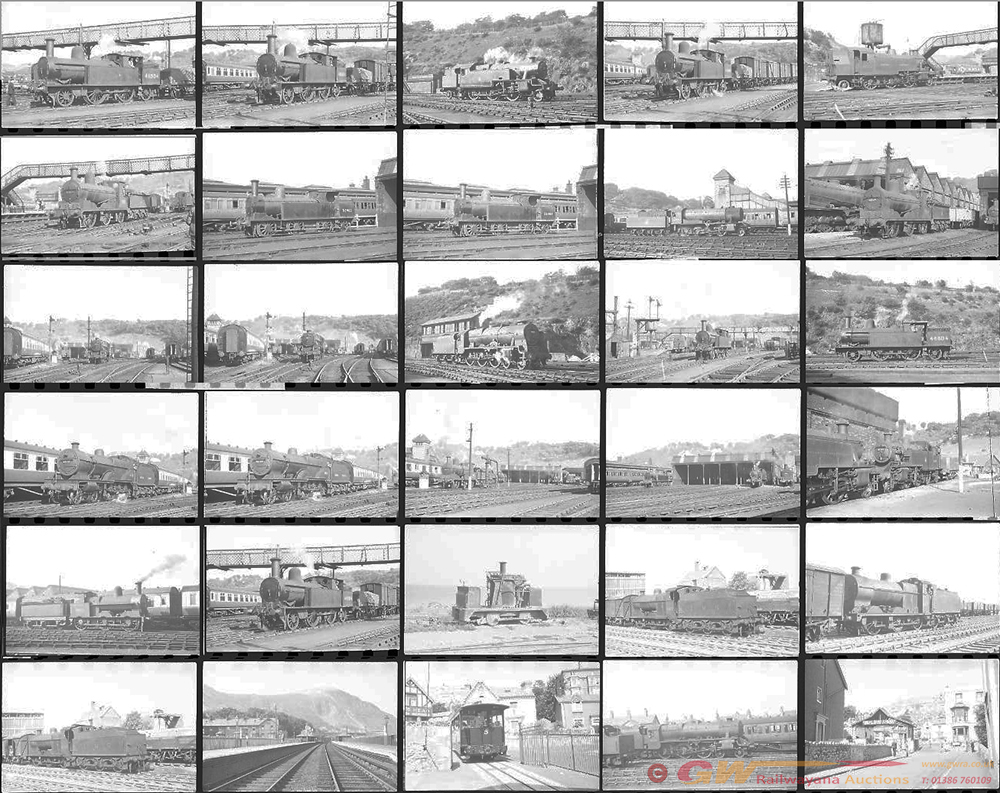 Approximately 70, 35mm Negatives. Includes Bangor,