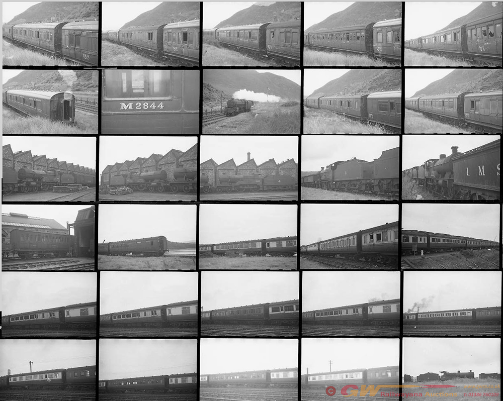 Approximately 79, 35mm Negatives. Includes Conway