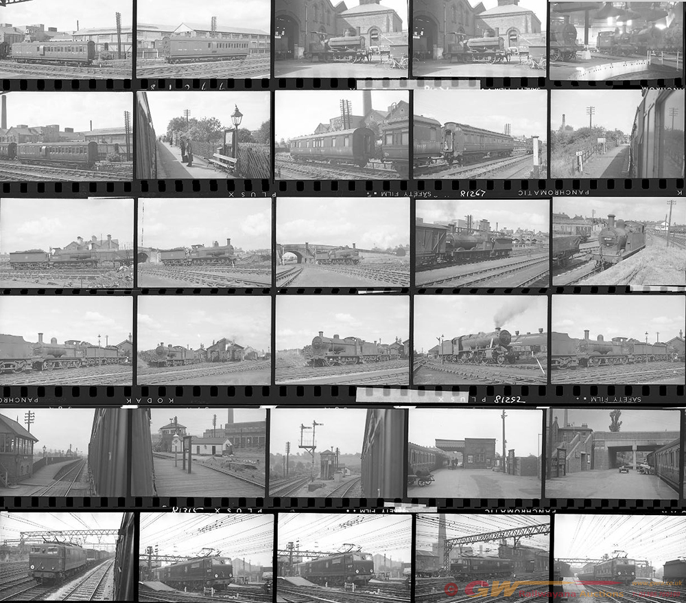 Approximately 89, 35mm Negatives. Includes Burton,
