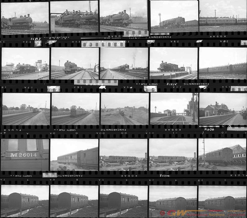 Approximately 120, 35mm Negatives. Includes Verney