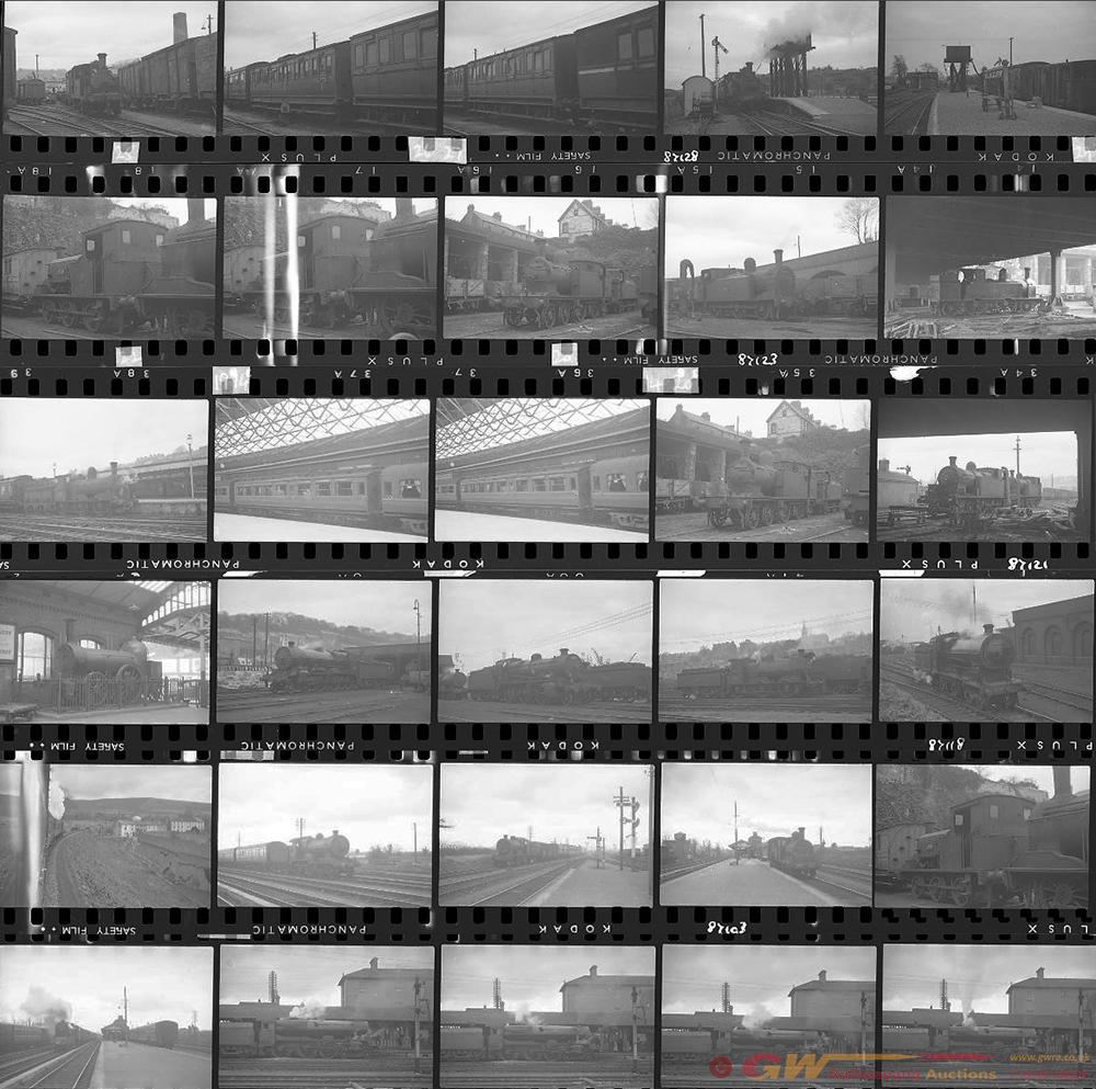 Approximately 100, 35mm Negatives. Irish To