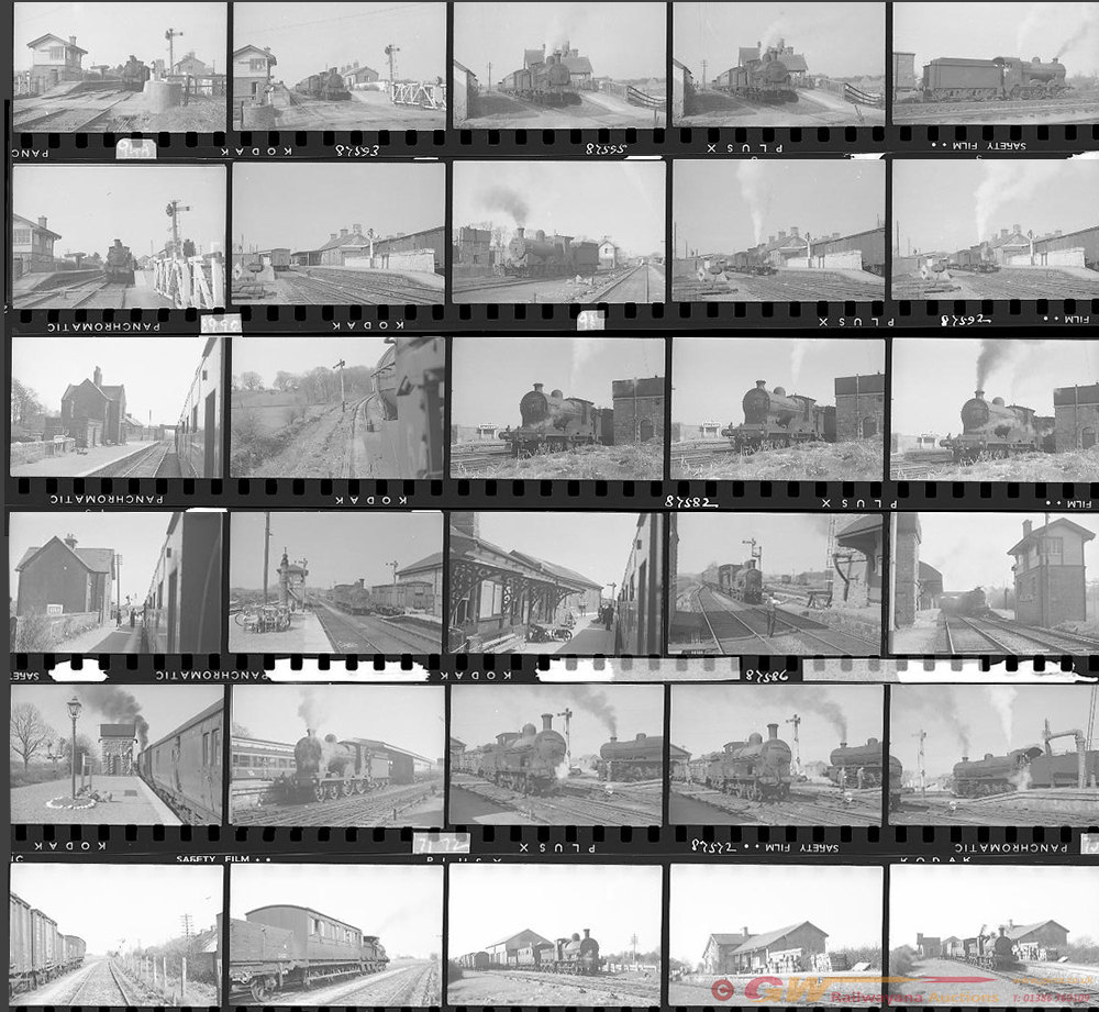 Approximately 100, 35mm Negatives. Irish To