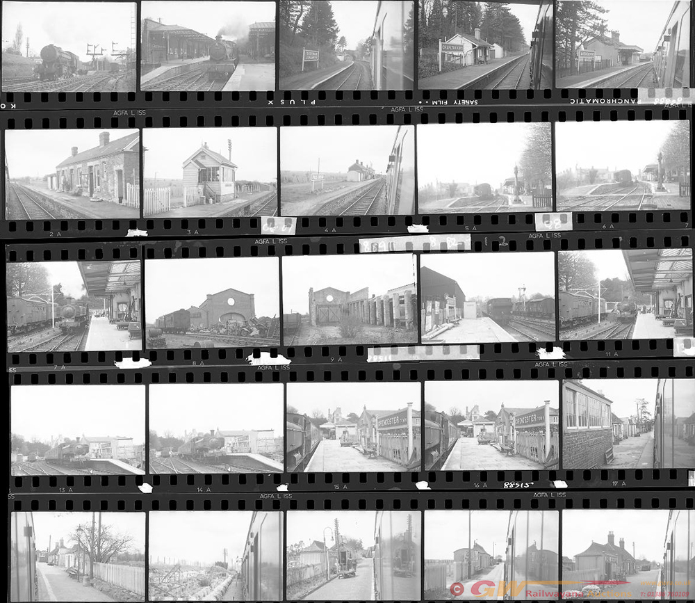 Approximately 45, 35mm Negatives. Includes