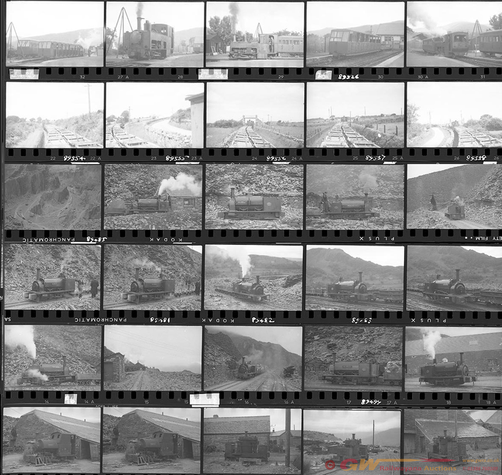 Approximately 140, 35mm Negatives. Includes