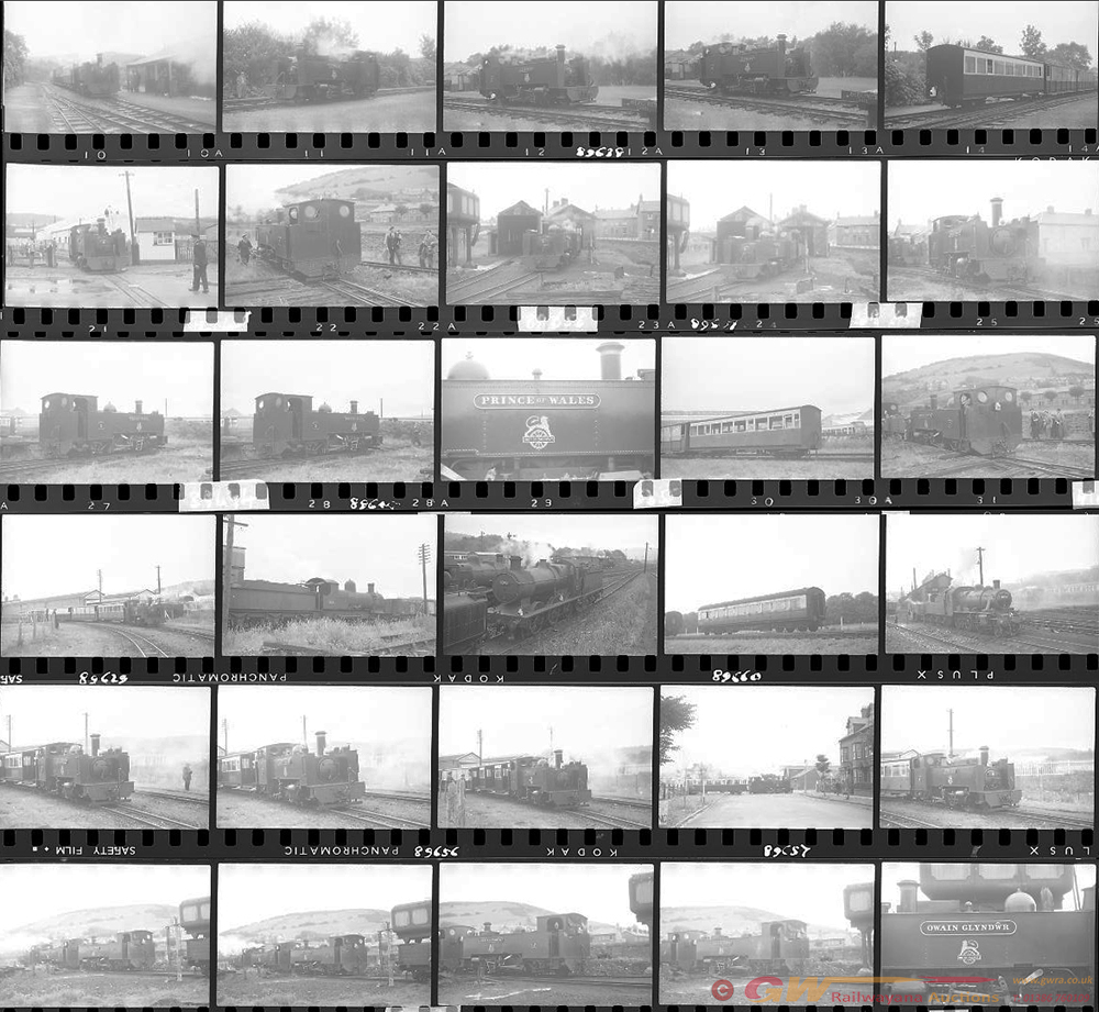 Approximately 56, 35mm Negatives. Includes VOR And