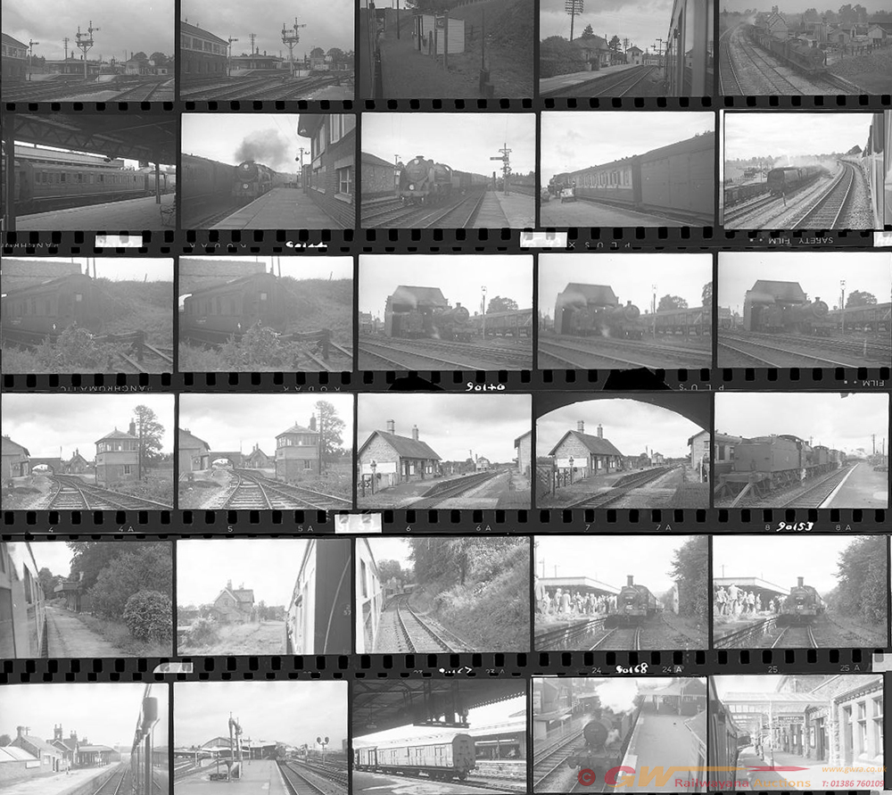 Approximately 62, 35mm Negatives. Includes