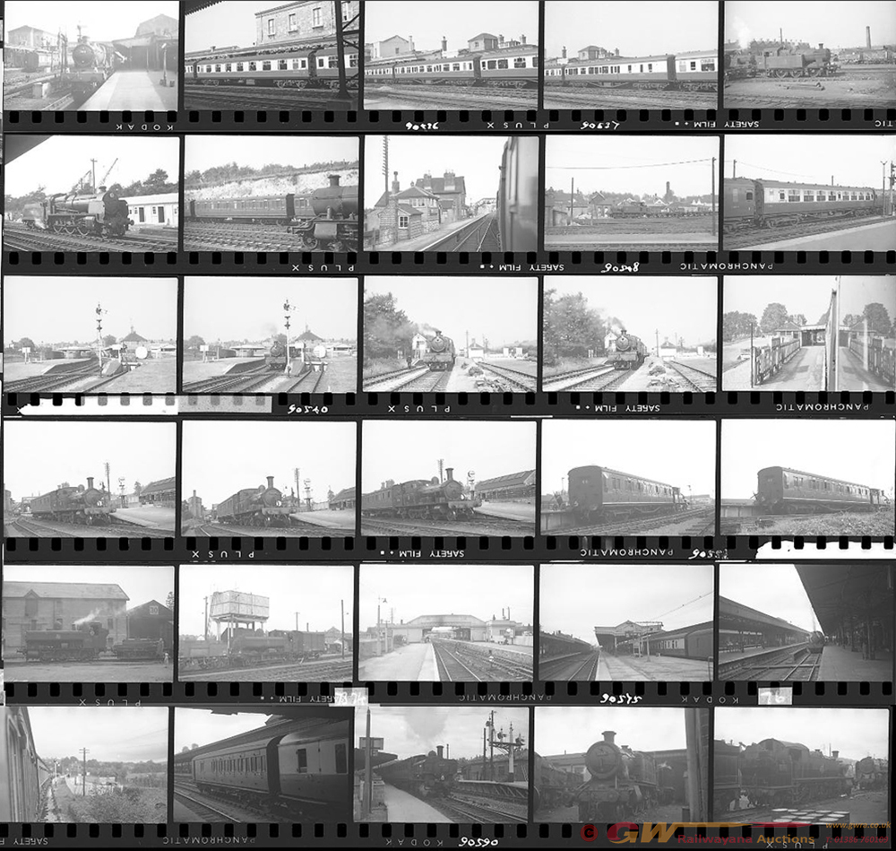 Approximately 71, 35mm Negatives. Includes