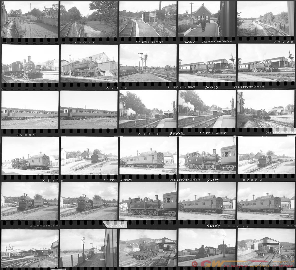 Approximately 57, 35mm Negatives. Includes