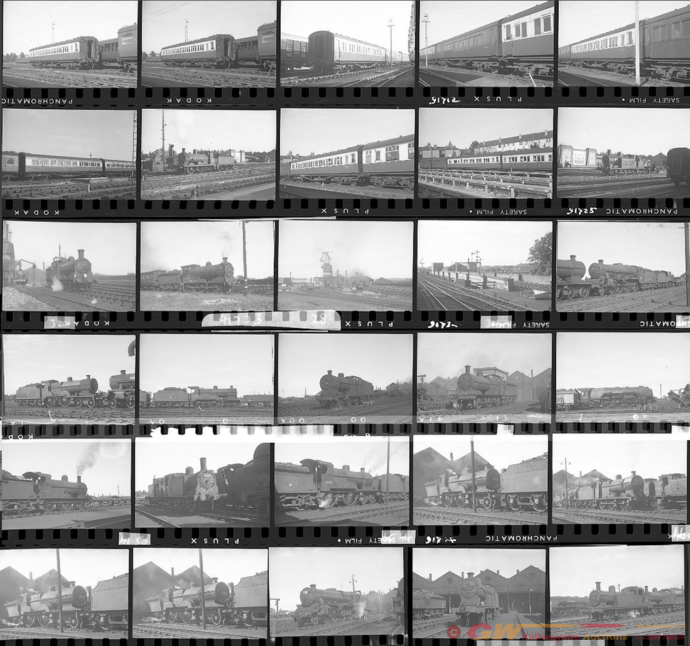 Approximately 62, 35mm Negatives. Includes Oxford,