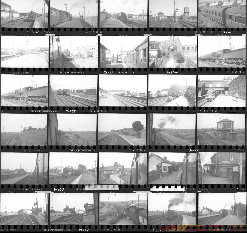 Approximately 135, 35mm Negatives. Scotland To