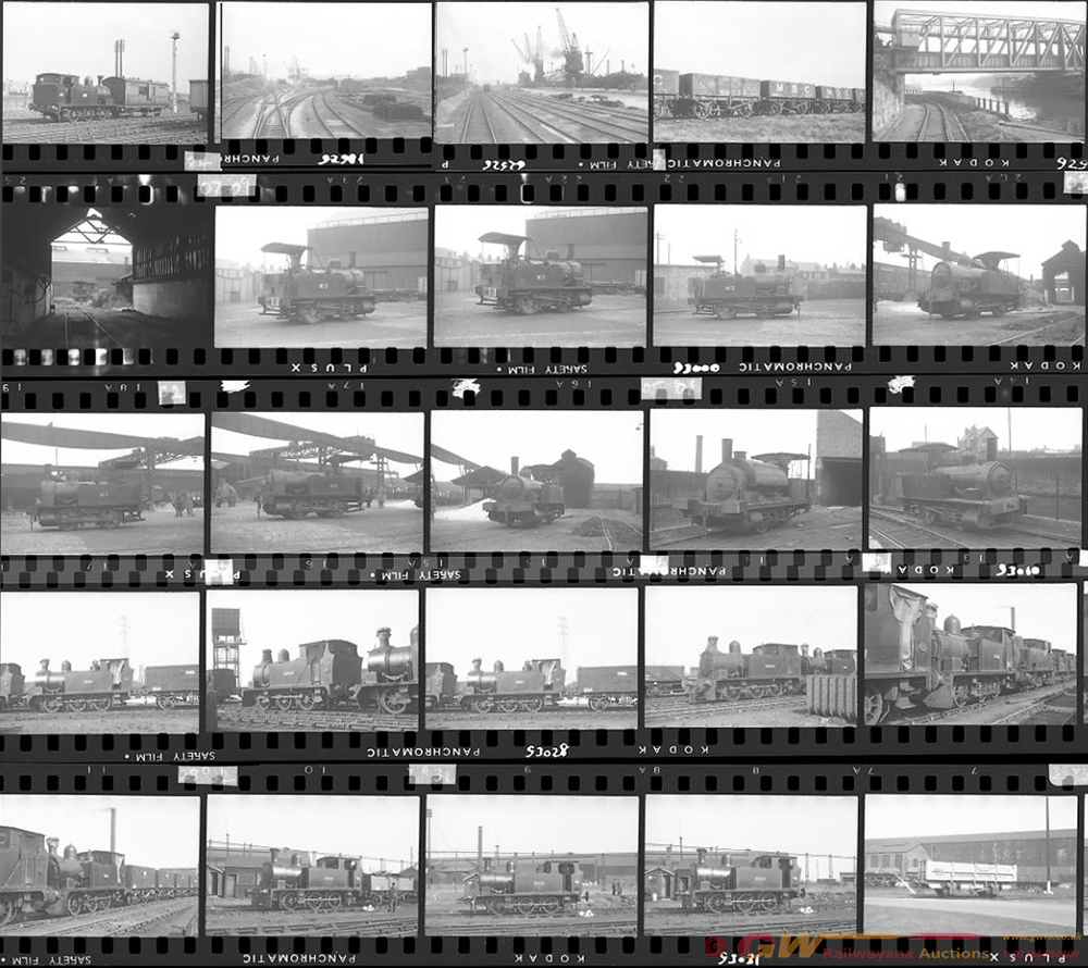 Approximately 115, 35mm Negatives. Mostly
