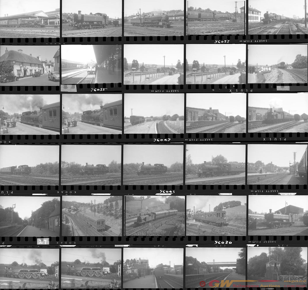 Approximately 69, 35mm Negatives. Includes