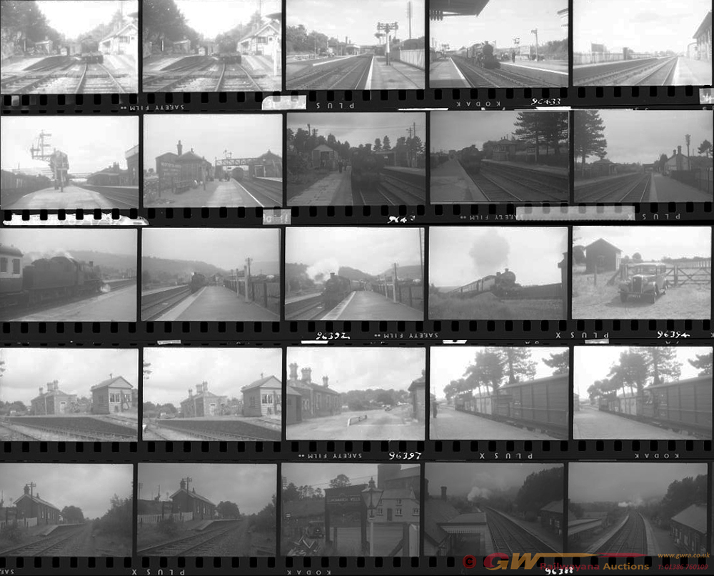 Approximately 82, 35mm Negatives. Includes Builth