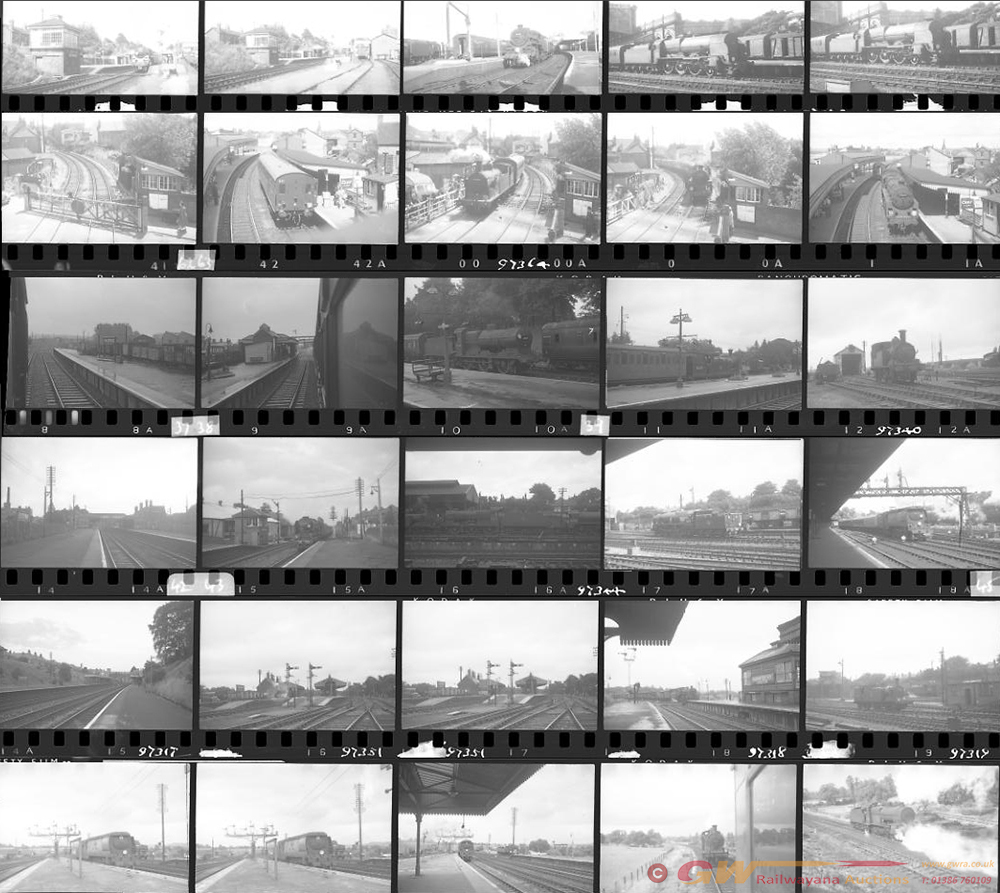 Approximately 99, 35mm Negatives. Includes Poole,