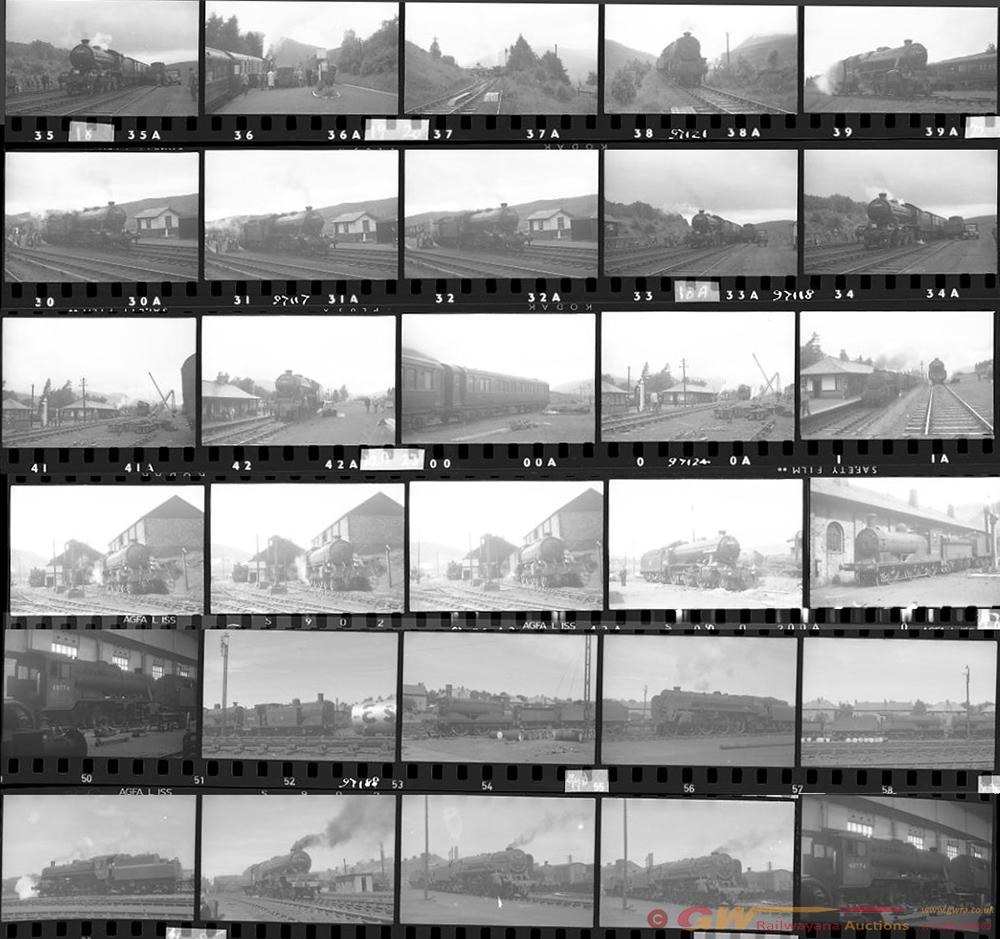 Approximately 120, 35mm Negatives. Scotland To