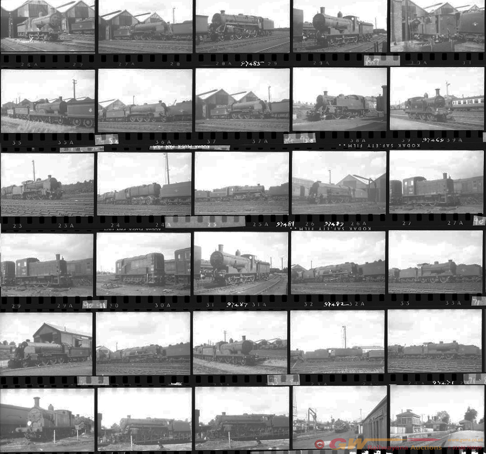 Approximately 80, 35mm Negatives. Includes
