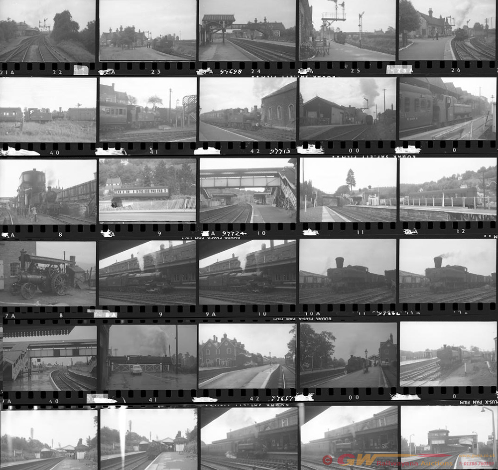 Approximately 72, 35mm Negatives. Includes