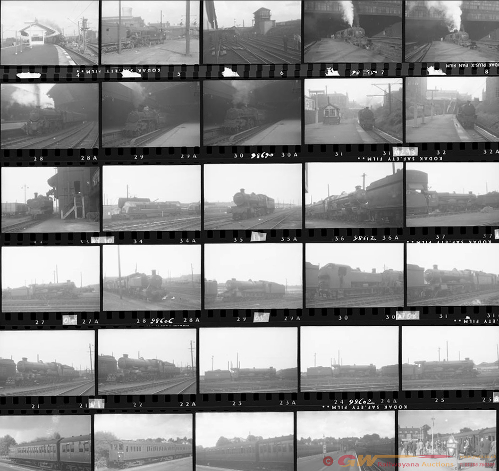 Approximately 120, 35mm Negatives. Includes Old