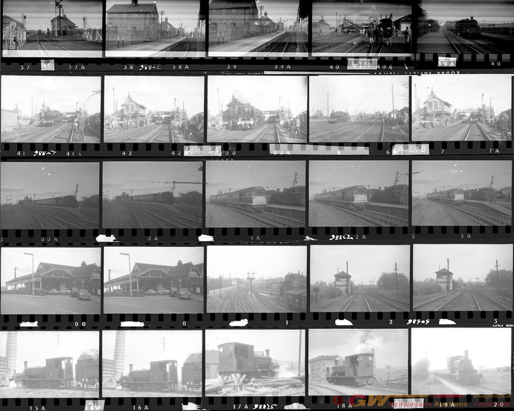 Approximately 110, 35mm Negatives. Includes Luton,