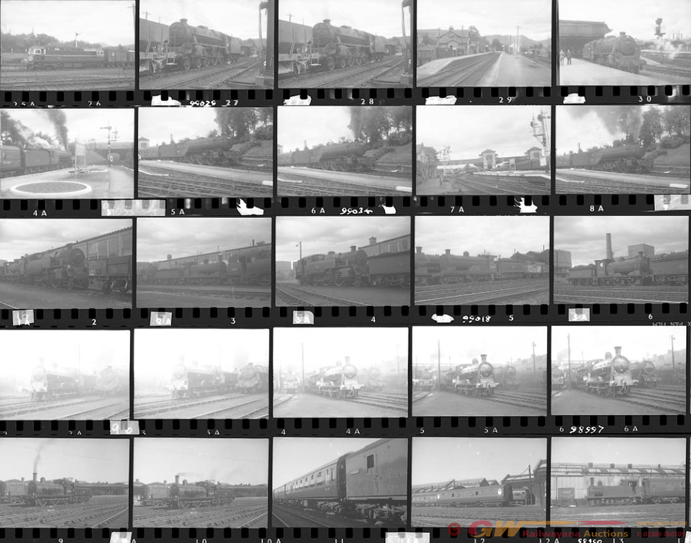 Approximately 100, 35mm Negatives. Includes Crewe,
