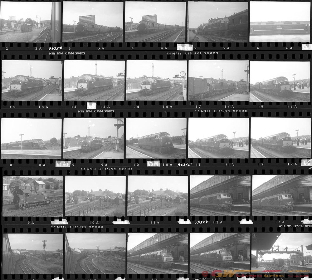 Approximately 50, 35mm Negatives. Includes