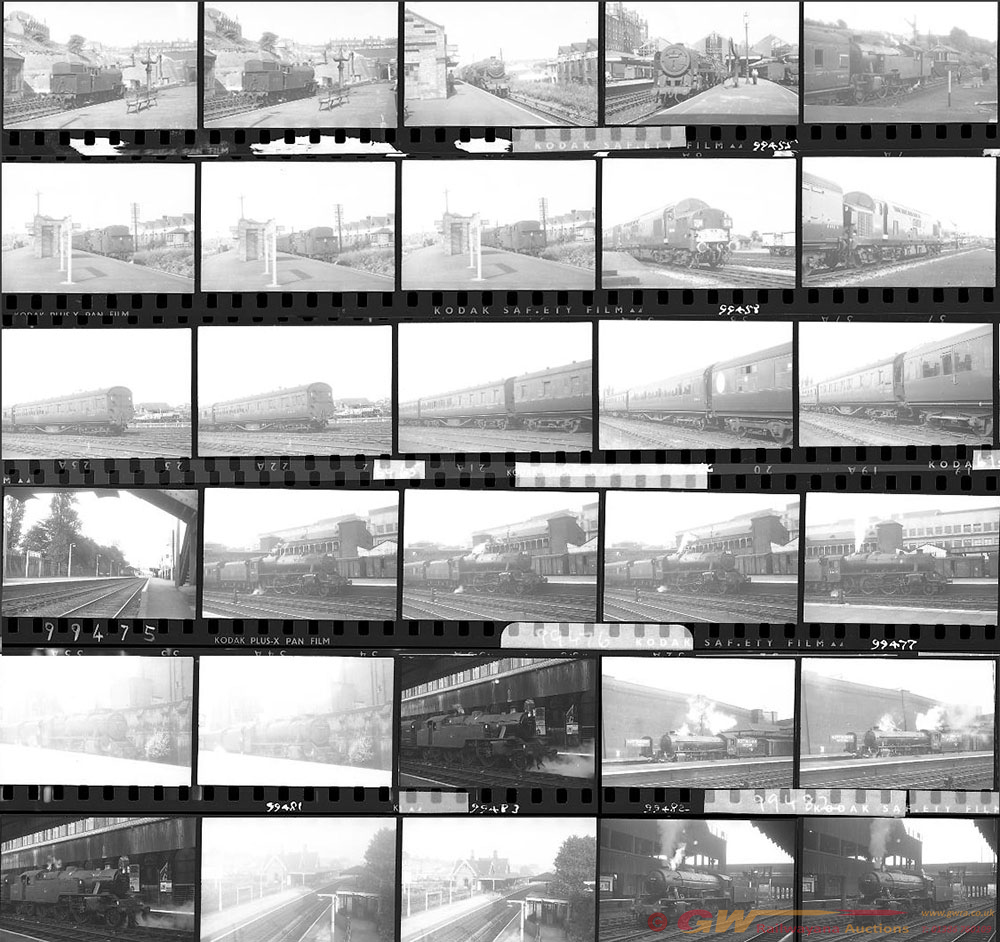 Approximately 65, 35mm Negatives. Includes