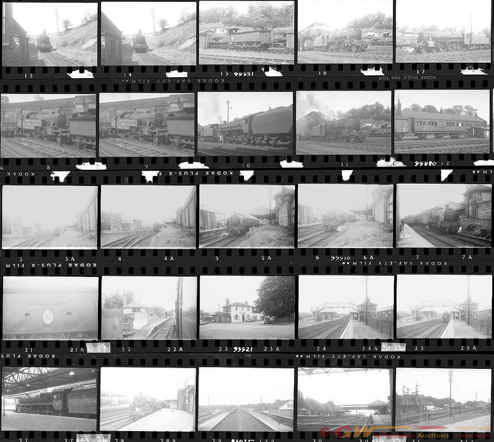 Approximately 125, 35mm Negatives. Includes