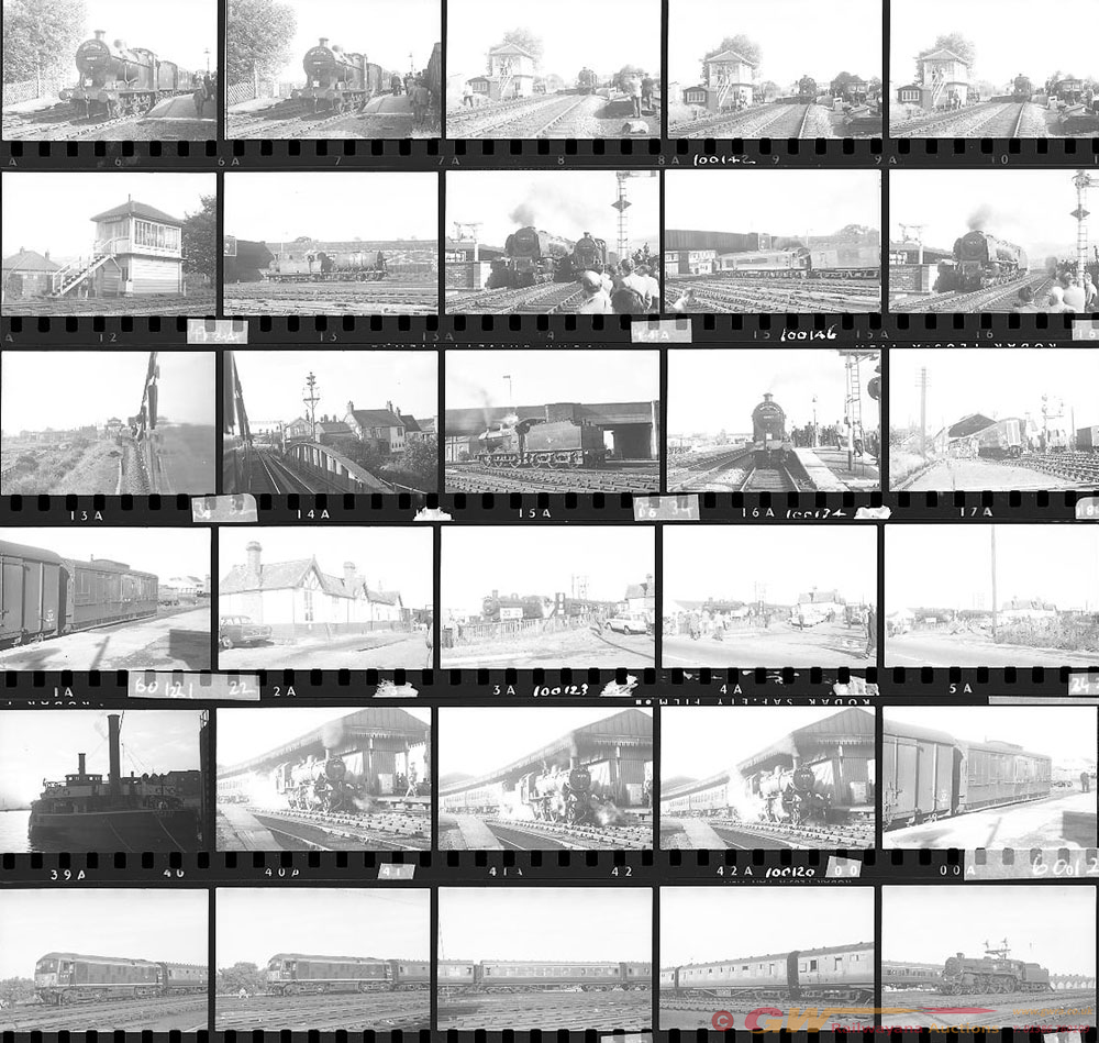 Approximately 79, 35mm Negatives. Includes York