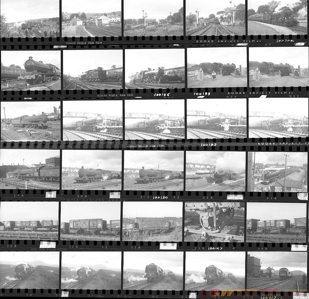 Approximately 76, 35mm Negatives. Includes Tyne