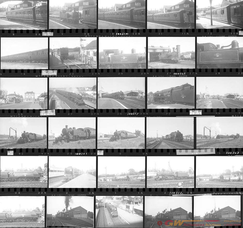 Approximately 73, 35mm Negatives. Includes Many