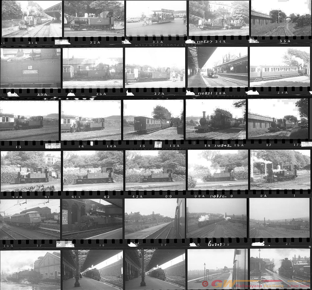 Approximately 67, 35mm Negatives. Includes Most Of