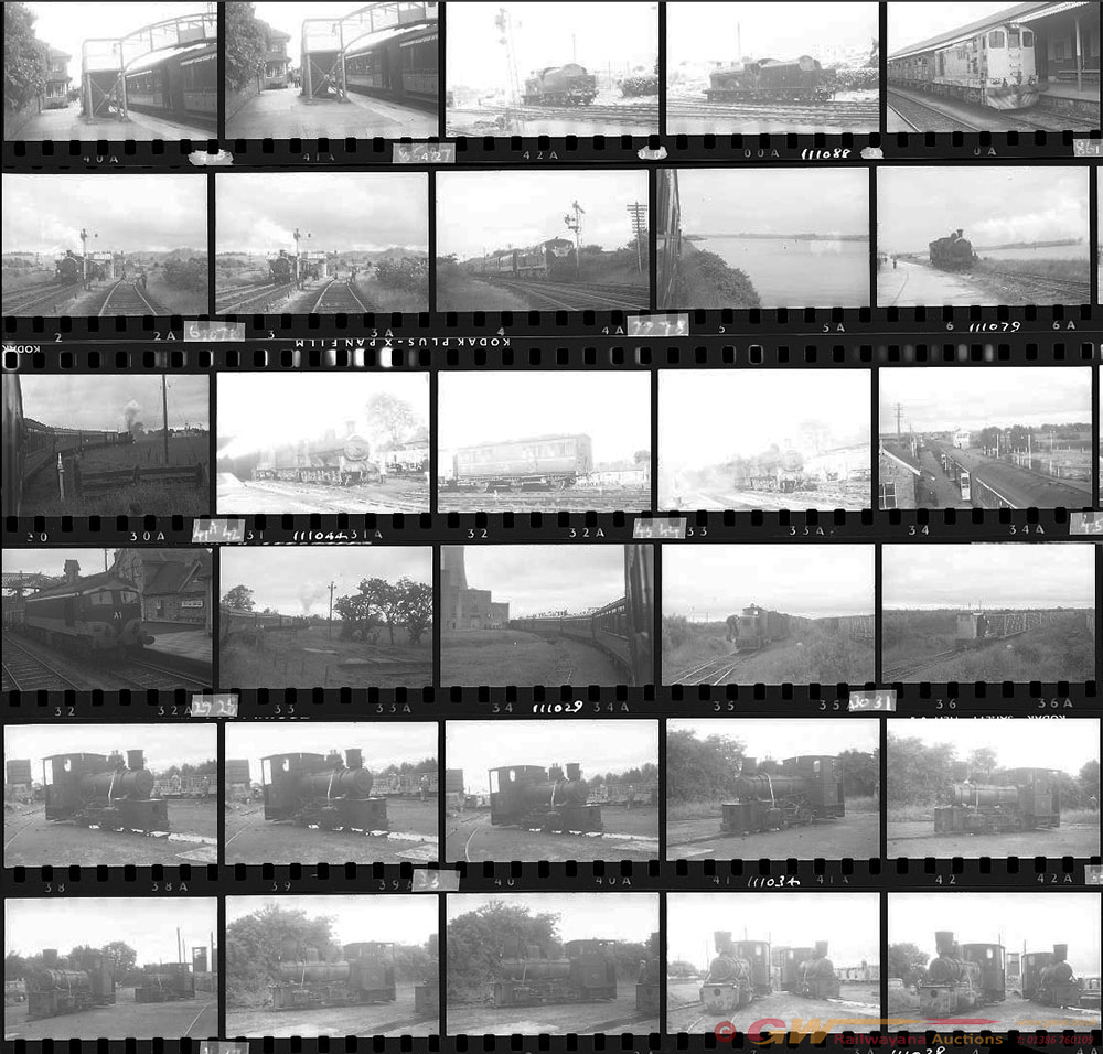 Approximately 83, 35mm Negatives. Irish To Include