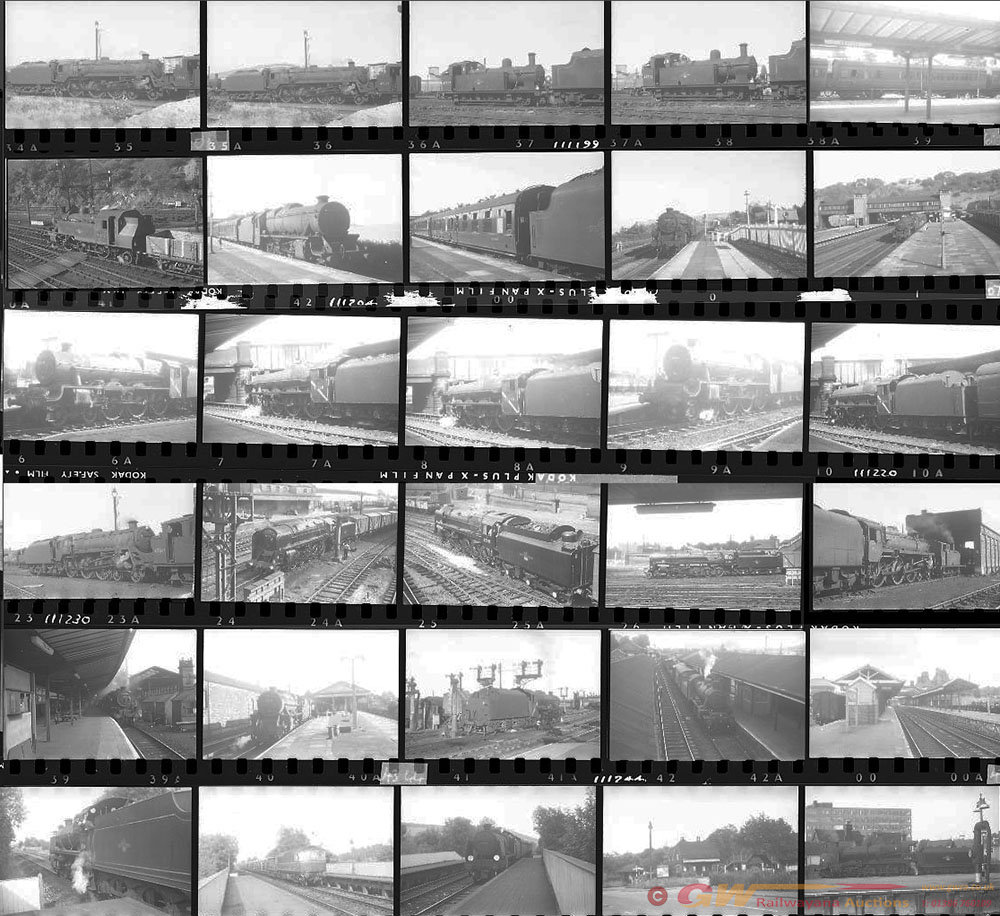 Approximately 120, 35mm Negatives. Includes