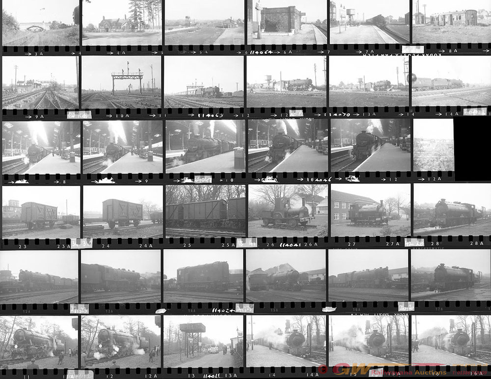 Approximately 81, 35mm Negatives. Includes