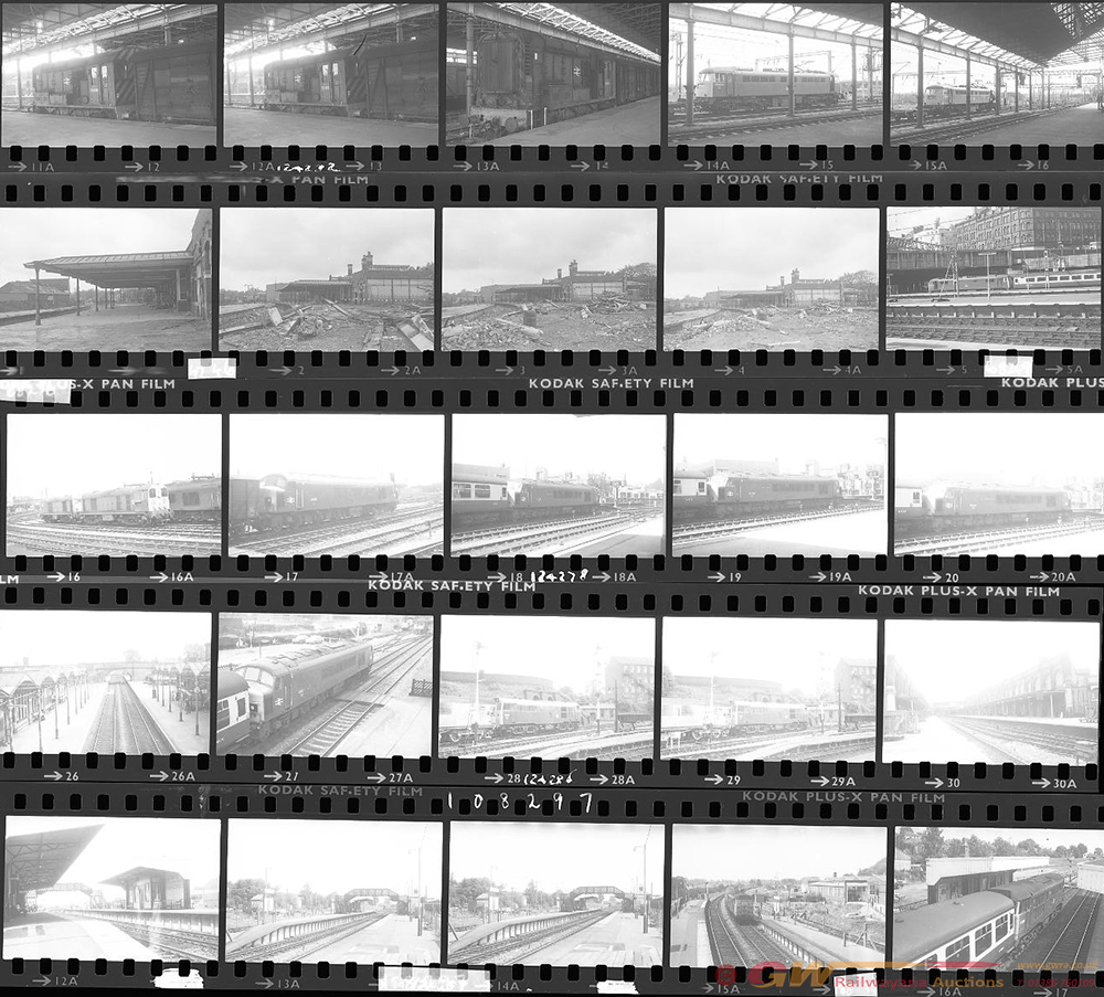 Approximately 150, 35mm Negatives. Includes