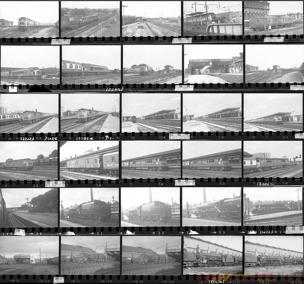 Approximately 95, 35mm Negatives. Includes Marlow,