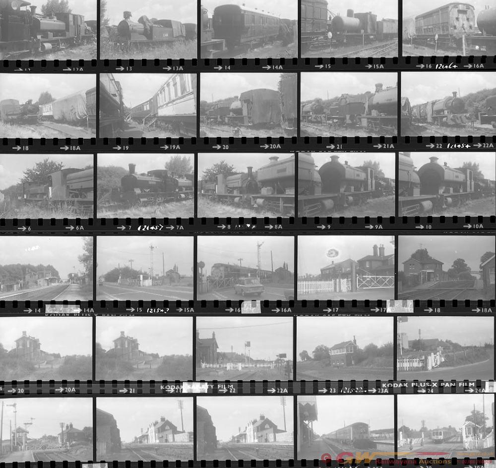 Approximately 82, 35mm Negatives. Includes