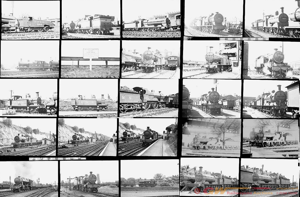 Approximately 130, 35mm Negatives. Includes
