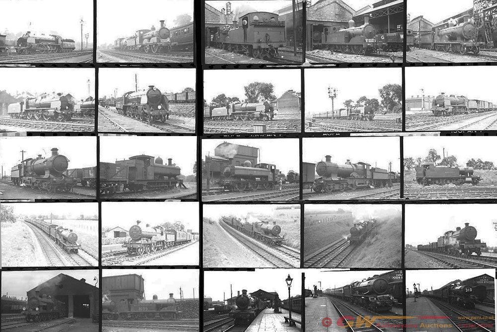 Approximately 132, 35mm Negatives. Includes Wells,