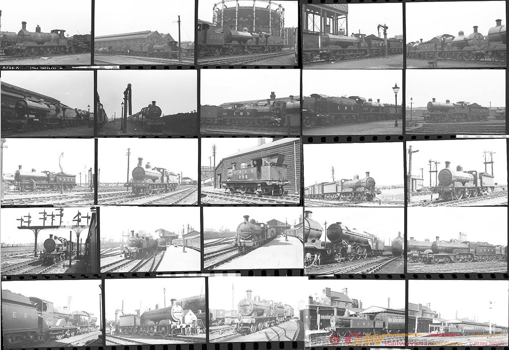 Approximately 140, 35mm Negatives. Includes Derby,