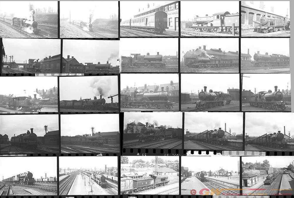 Approximately 115, 35mm Negatives. Includes M&GN,