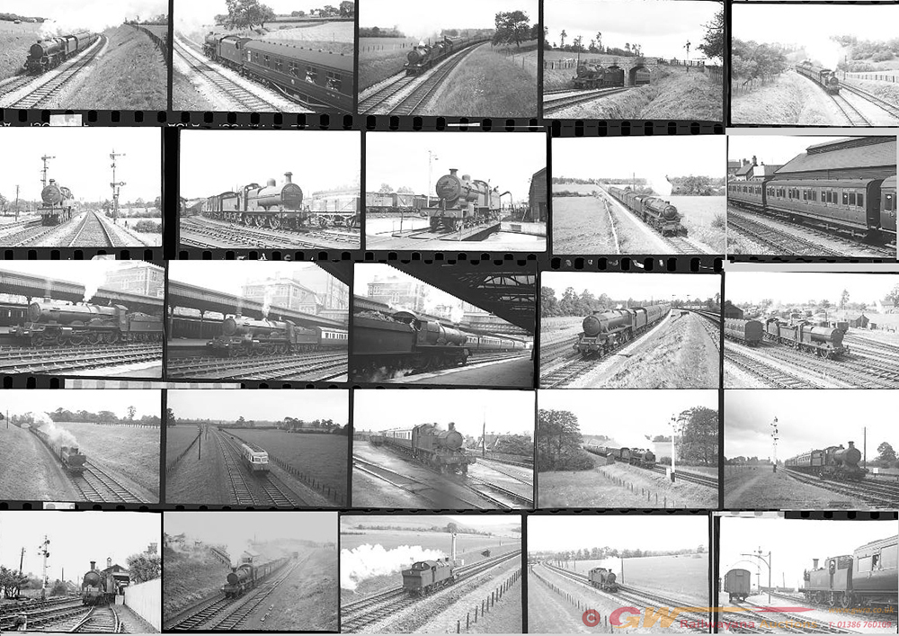 Approximately 44, 35mm Negatives. Includes