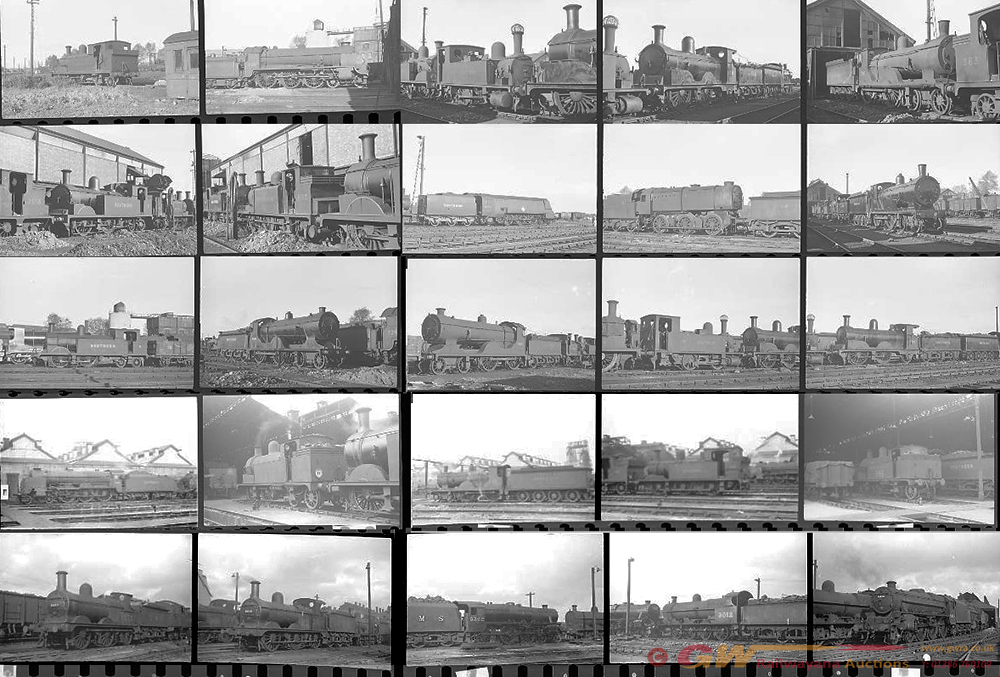 Approximately 110, 35mm Negatives. Includes Nine