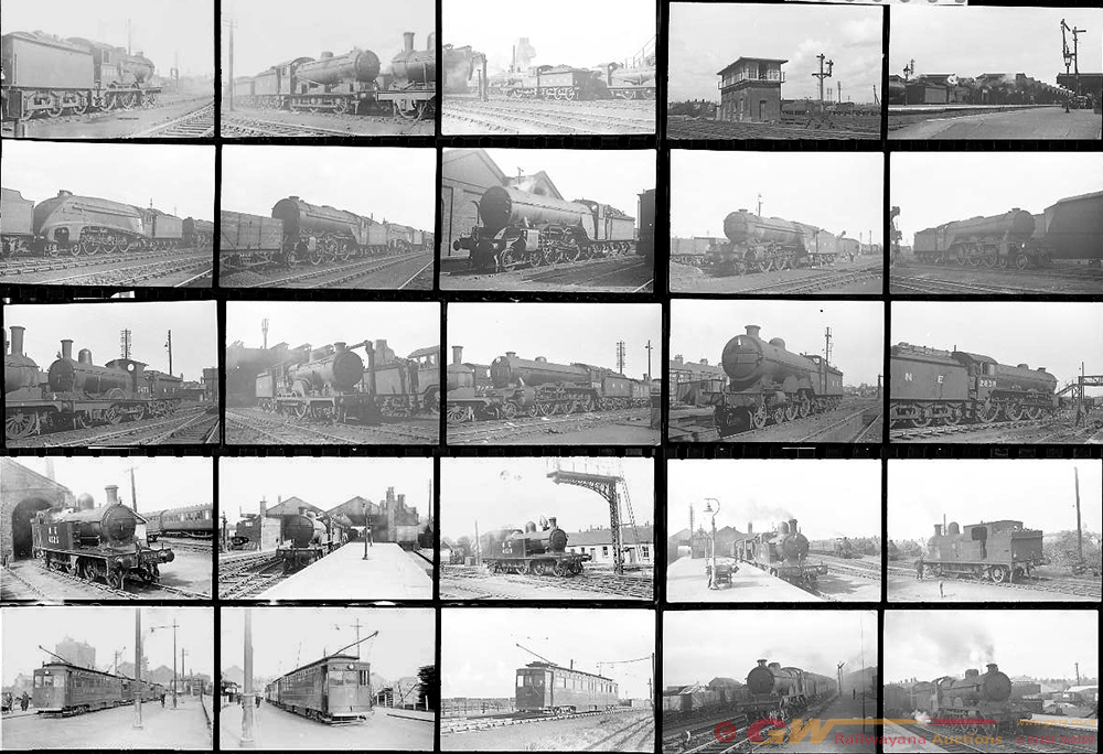 Approximately 94, 35mm Negatives. Includes