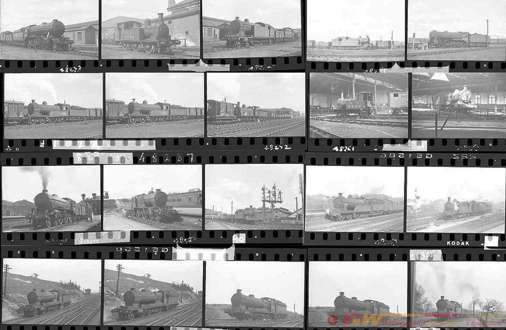 Approximately 100, 35mm Negatives. Includes Hull,