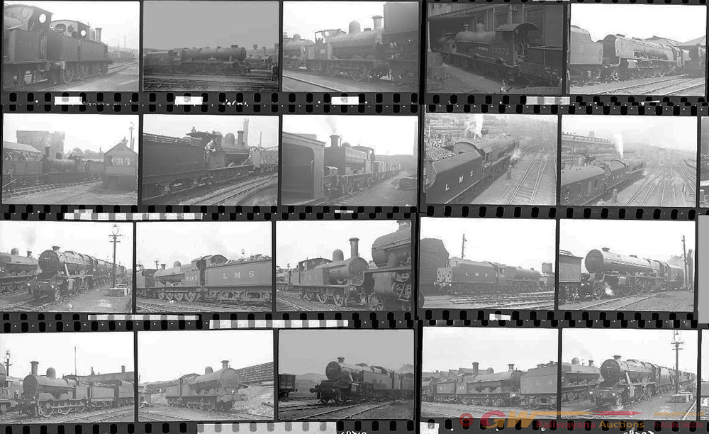 Approximately 100, 35mm Negatives. Includes Crewe